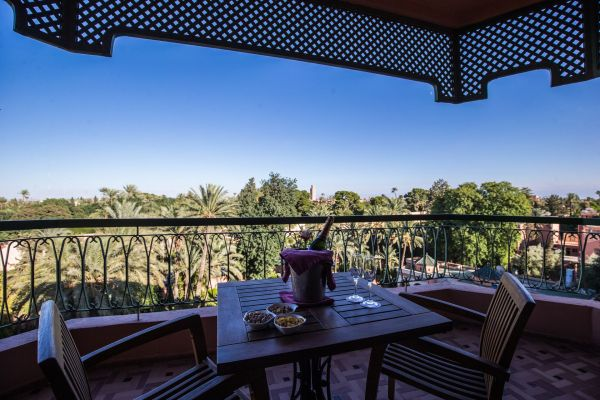 Royal Suite balcony - koutoubia view
